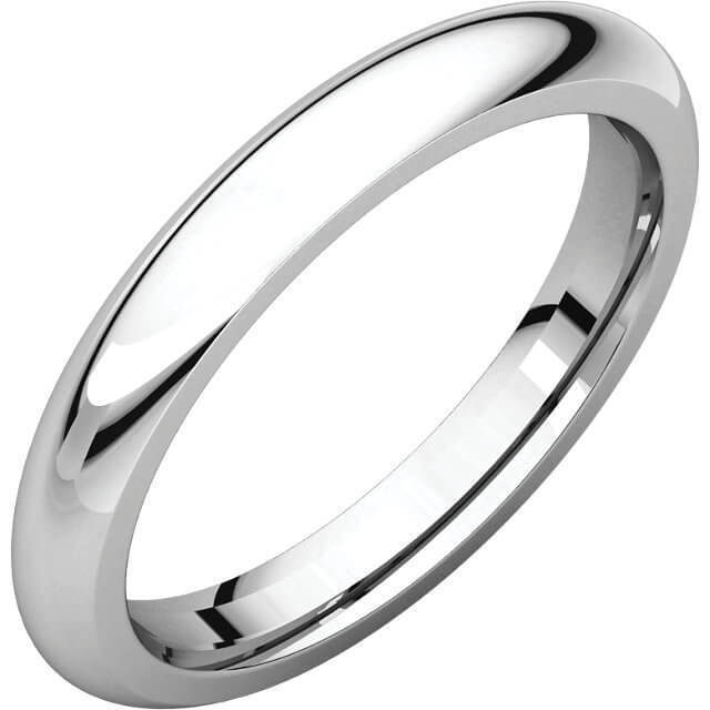 9d25996ac Mens Platinum 4mm Court shape Wedding Ring for sale - NEWBURYSONLINE