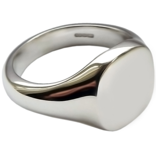 Womens Sterling Silver Signet Rings