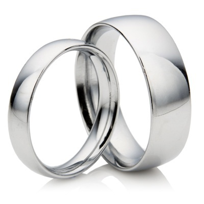 Matching 3mm 5mm Court Platinum Wedding Rings 092 Newburysonline