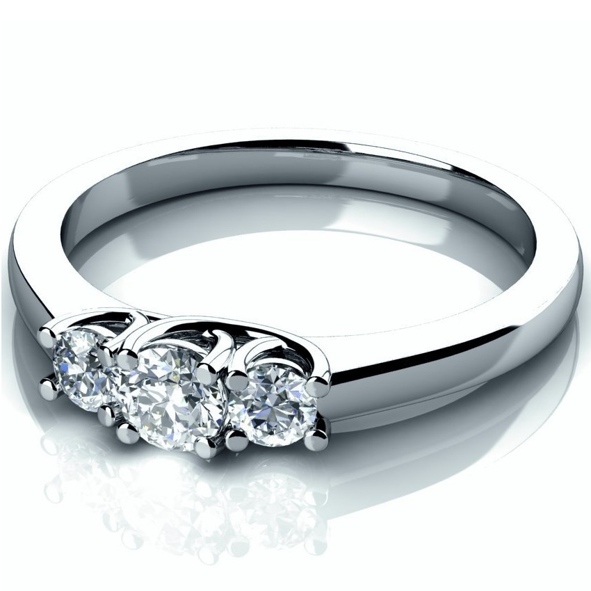 Plus Size Womens Silver Rings