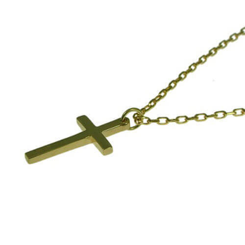20 inch solid 9ct gold cross pendant belcher chain newburysonline 20 inch solid 9ct gold cross pendant belcher chain necklace aloadofball Gallery