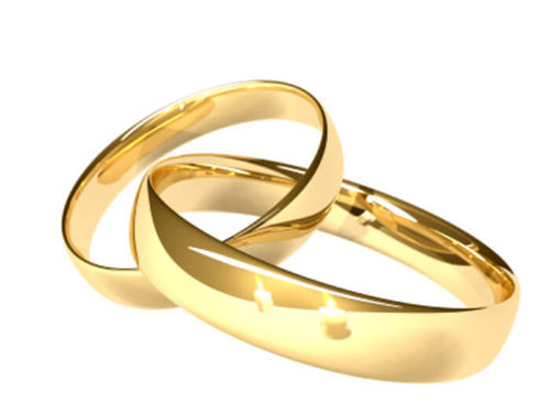 His & Hers 9ct Gold 3mm & 6mm Court shape Wedding Rings