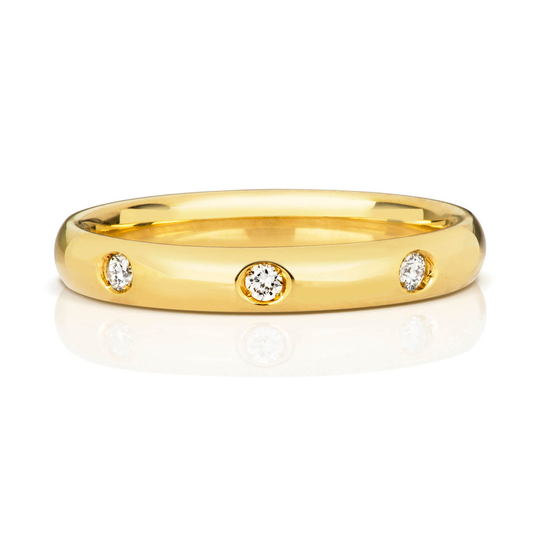 18ct gold wedding
