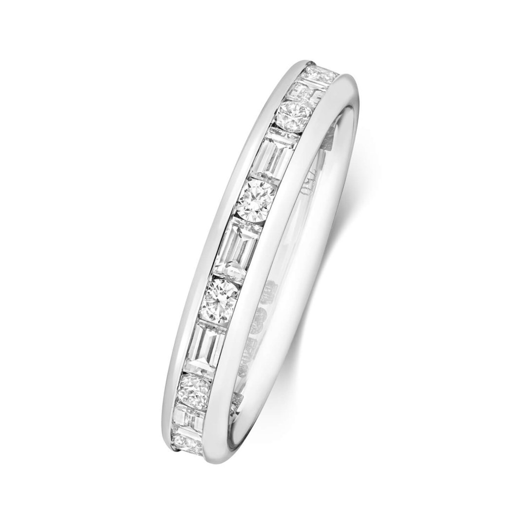 platinum eternity ring 2671 newburysonline