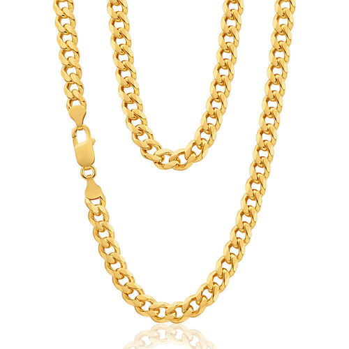 9ct Gold Curb Chain 21 inch 38 grams