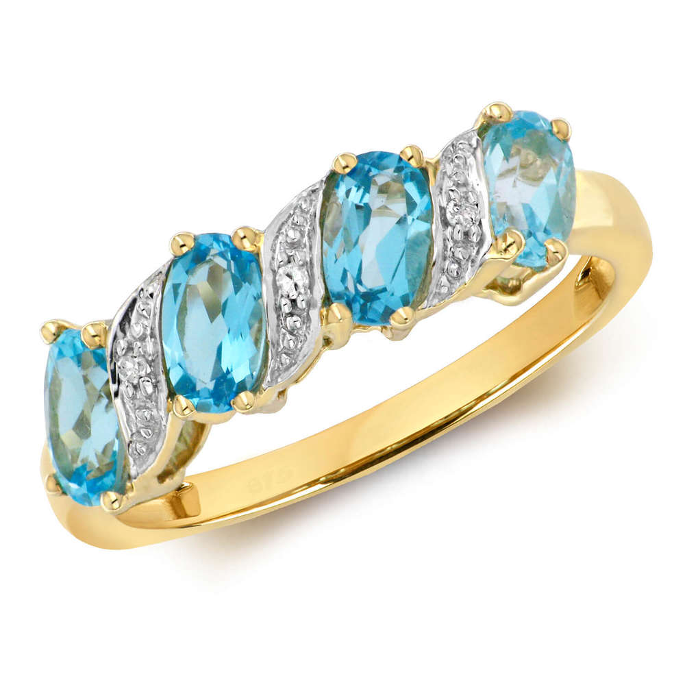 levianr diamond white image centres charm topaz blue of ring levian gold product