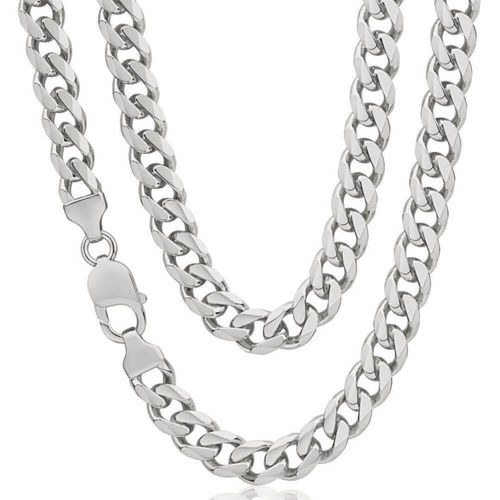 Heavy solid Sterling Silver Curb Chain 22 inch 95 grams
