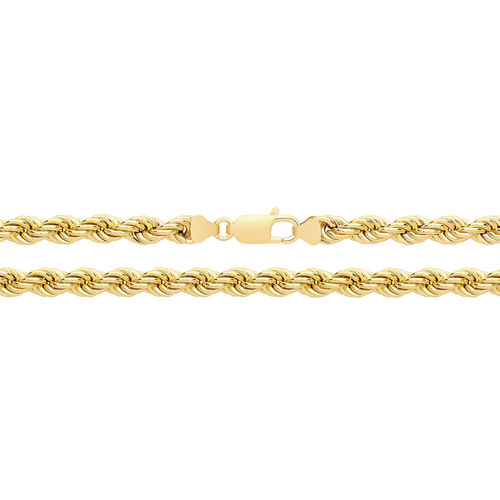 9ct Gold Rope Chain 24 inch 18 grams