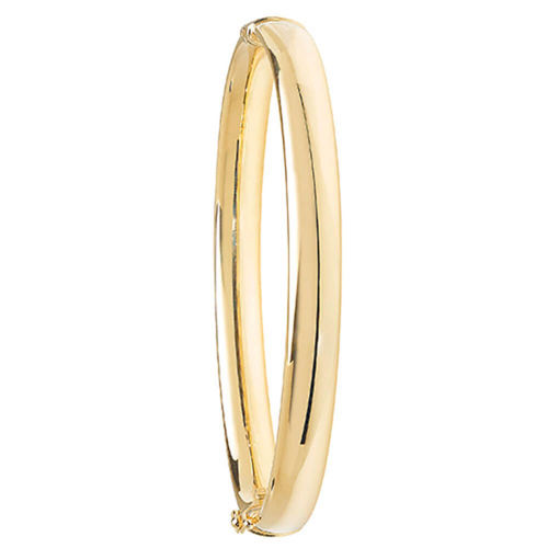 9ct yellow Gold hinged Bangle 6 grams