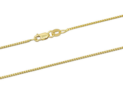 18ct Yellow Gold Franco Chain Necklace 16 inch 3 1/2 grams