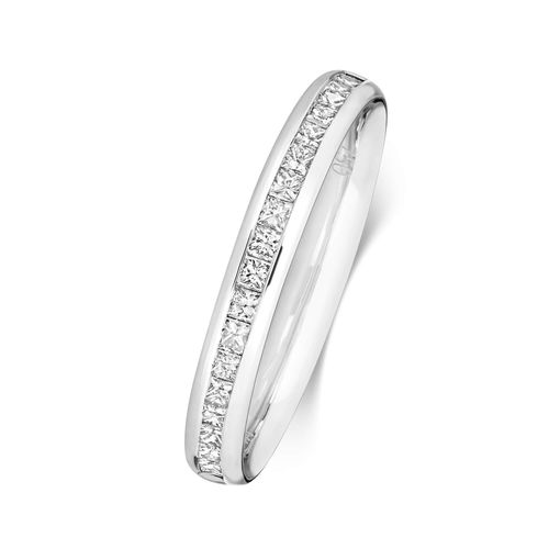 Women's Platinum 2.7mm Channel set Diamond Wedding Ring