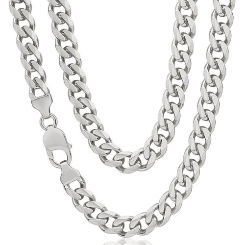 Men's heavy solid Sterling Silver Curb Chain 24 inch 110 grams